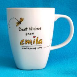 Back of the mug