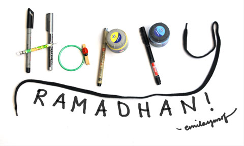 Happy Ramadhan to all!