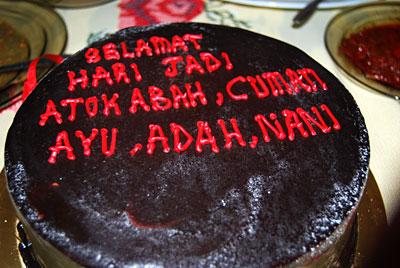 cake tok abah