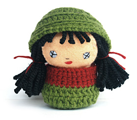 little red and green riding hood