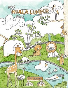 KL illustrated postcard III