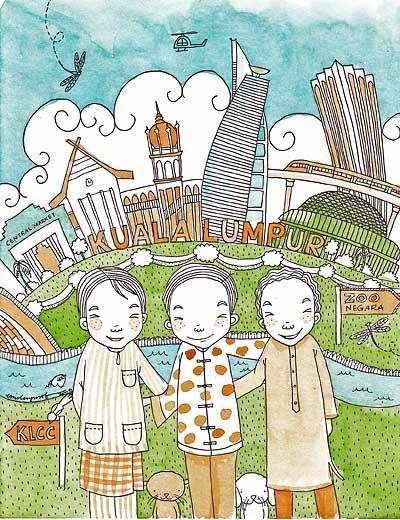 KL postcard II