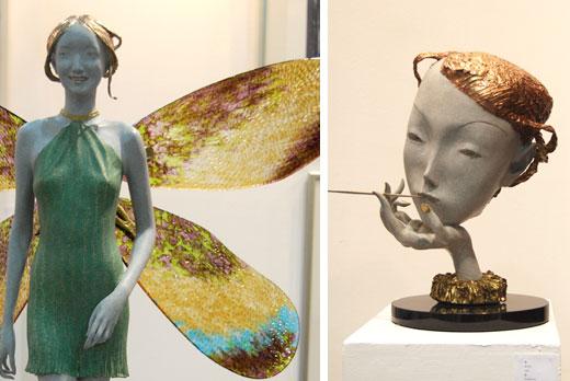 Statues by Pang Kuan Ju