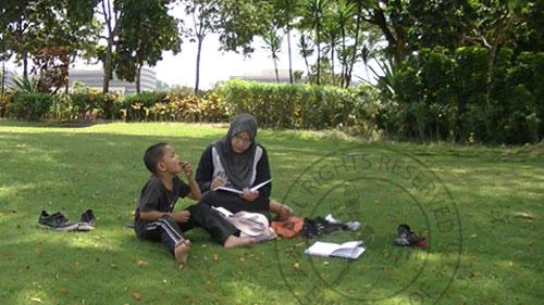 putrajaya lake garden