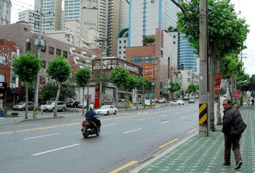seocho-dong street