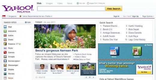 featured on yahoo! malaysia