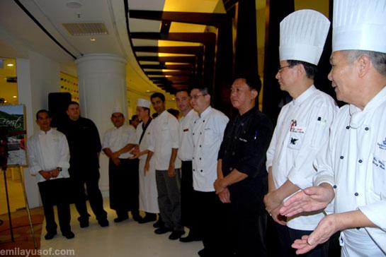 YTL Hotels' chefs