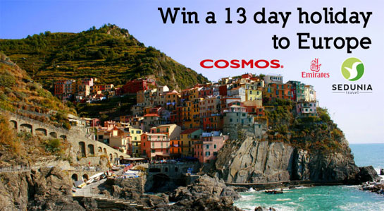 Win a 13 day trip to Europe