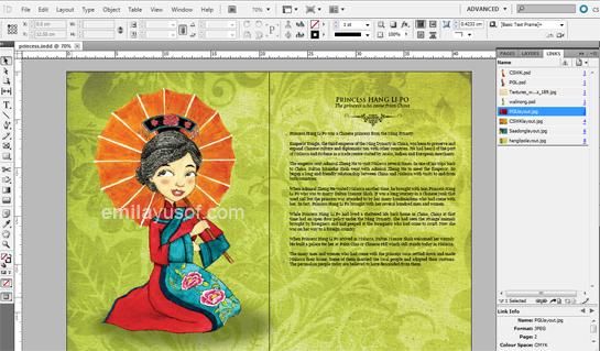 Hang Li Po on layout progress