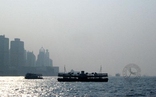 Foggy HK Island