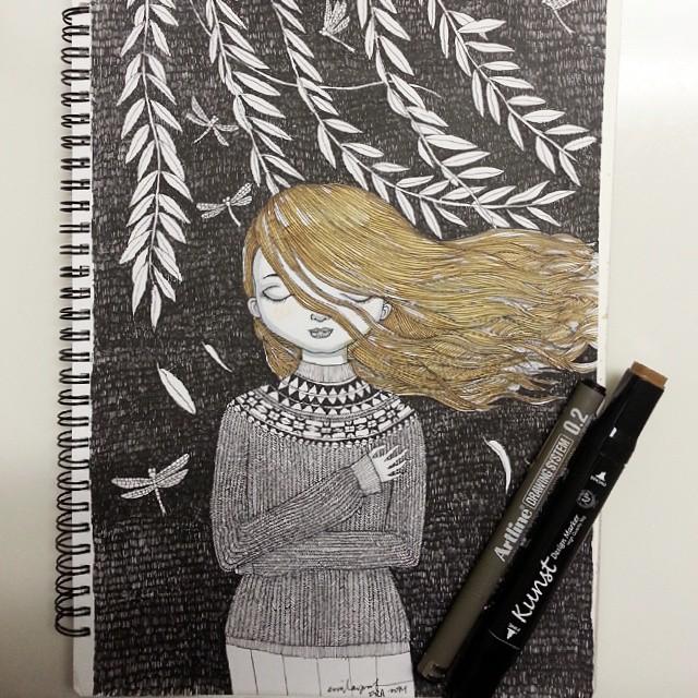 #inktober drawing 3