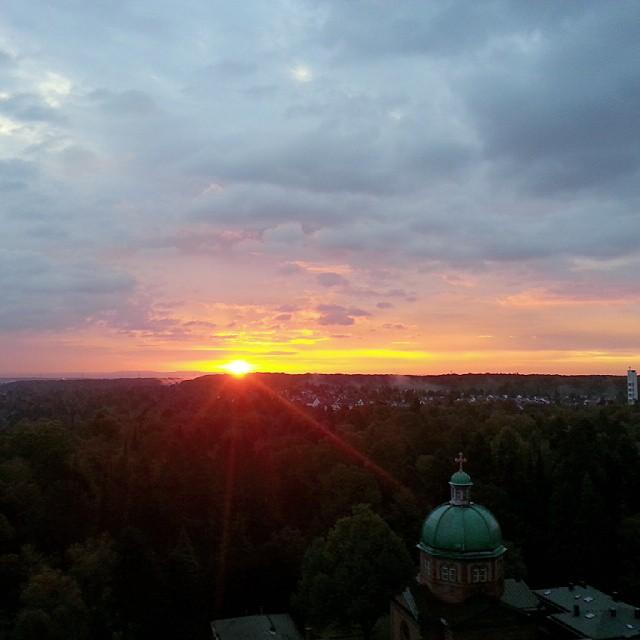 Good morning from Frankfurt!