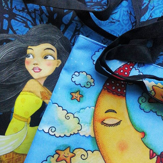 My totebags!