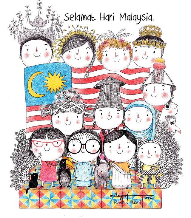 Selamat Hari Malaysia, Malaysians!